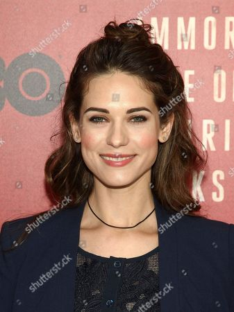"Lyndsy Fonseca attends the premiere of HBO Films' ""The Immortal Life of Henrietta Lacks"" at the SVA Theatre, in New York"