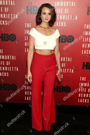 """Sylvia Grace Crim attends the premiere of HBO Films' """"The Immortal Life of Henrietta Lacks"""" at the SVA Theatre, in New York"""