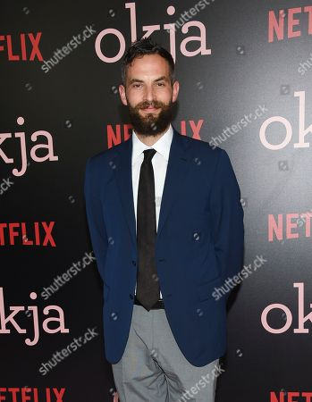 """Co-producer Sandro Kopp attends the premiere of Netflix's """"Okja"""" at AMC Loews Lincoln Square, in New York"""