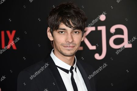 """Actor Devon Bostick attends the premiere of Netflix's """"Okja"""" at AMC Loews Lincoln Square, in New York"""