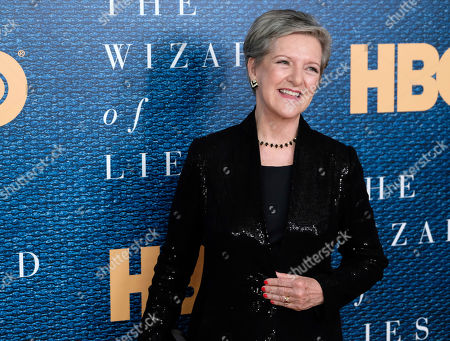 """Stock Picture of Diana Henriques attends a screening of HBO's """"The Wizard of Lies"""" at the Museum of Modern Art, in New York"""