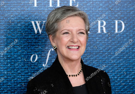 """Diana Henriques attends a screening of HBO's """"The Wizard of Lies"""" at the Museum of Modern Art, in New York"""