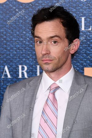 """Nathan Darrow attends a screening of HBO's """"The Wizard of Lies"""" at the Museum of Modern Art, in New York"""