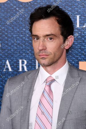 """Stock Image of Nathan Darrow attends a screening of HBO's """"The Wizard of Lies"""" at the Museum of Modern Art, in New York"""