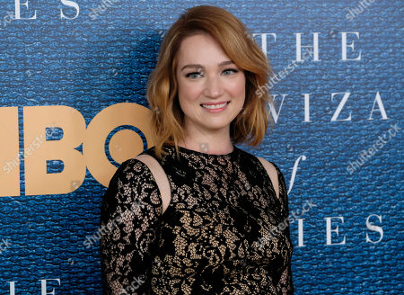 """Kristen Connolly attends a screening of HBO's """"The Wizard of Lies"""" at the Museum of Modern Art, in New York"""