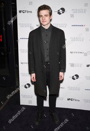 """Ben Rosenfield attends a special screening of """"Personal Shopper"""" at Metrograph, in New York"""