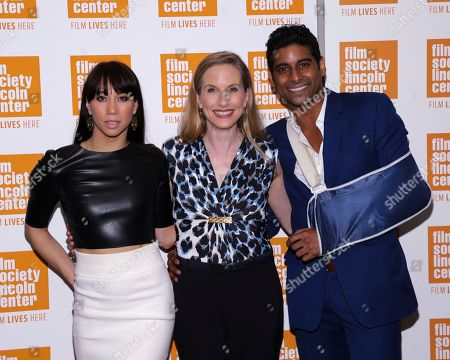 "Georgina Pazcoguin, from left, retired ballet dancer Wendy Whelan and Amar Ramasar attend a special screening of ""Restless Creature: Wendy Whelan"" at Elinor Bunin Munroe Film Center, in New York"