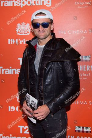 "Filmmaker Casey Neistat attends a special screening of ""T2 Trainspotting"", hosted by TriStar Pictures, Film4 and The Cinema Society, at Landmark Sunshine Cinema, in New York"