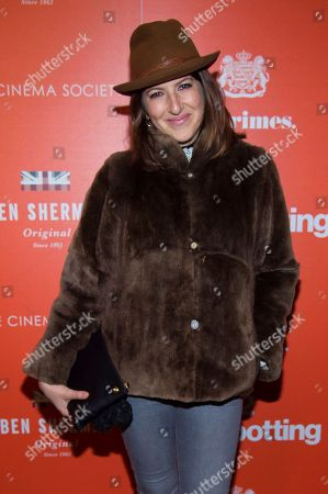 """Actress Tara Summers attends a special screening of """"T2 Trainspotting"""", hosted by TriStar Pictures, Film4 and The Cinema Society, at Landmark Sunshine Cinema, in New York"""