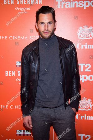 "Jake Davies attends a special screening of ""T2 Trainspotting"", hosted by TriStar Pictures, Film4 and The Cinema Society, at Landmark Sunshine Cinema, in New York"