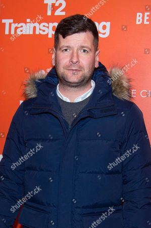 """Luke Parker-Bowles attends a special screening of """"T2 Trainspotting"""", hosted by TriStar Pictures, Film4 and The Cinema Society, at Landmark Sunshine Cinema, in New York"""
