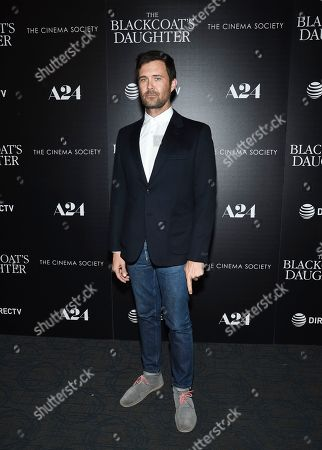 """Director Osgood Perkins attends a special screening of """"The Blackcoat's Daughter"""", hosted by A24 and DirecTV, at Landmark Sunshine Cinema, in New York"""