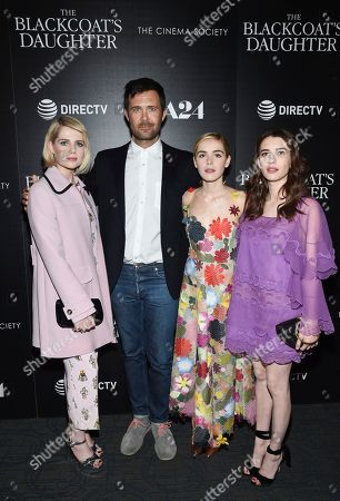 """Editorial image of NY Special Screening of """"The Blackcoat's Daughter"""", New York, USA - 22 Mar 2017"""