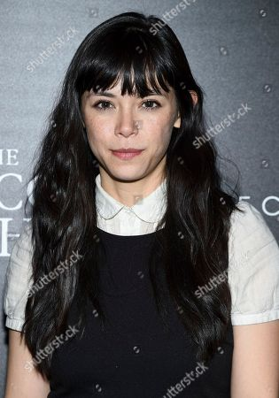 """Stock Image of Mitzi Akaha attends a special screening of """"The Blackcoat's Daughter"""", hosted by A24 and DirecTV, at Landmark Sunshine Cinema, in New York"""
