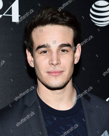 """Actor Alberto Rosende attends a special screening of """"The Blackcoat's Daughter"""", hosted by A24 and DirecTV, at Landmark Sunshine Cinema, in New York"""
