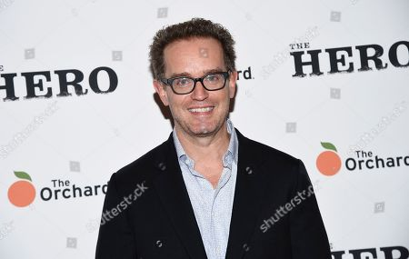"""Producer Sam Bisbee attends a special screening of """"The Hero"""" at The Whitby Hotel, in New York"""