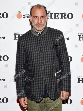 """Nick Sandow attends a special screening of """"The Hero"""" at The Whitby Hotel, in New York"""