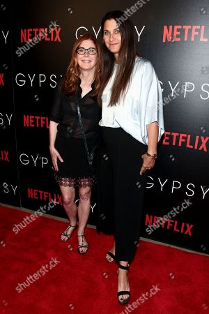 "Stock Picture of Dana Delany, left, and Liza Chasin, right, attend a special screening of Netflix's ""Gypsy"" at Public, in New York"