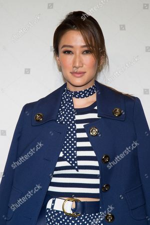 Jennifer Tse Ting-Ting attends the Michael Kors show as part of NYFW Fall/Winter 2017 on in New York