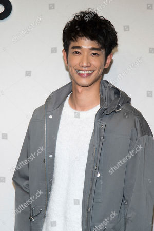 Jasper Liu attends the Michael Kors show as part of NYFW Fall/Winter 2017 on in New York