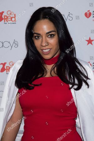 Sharon Carpenter attends the Red Dress Collection 2017 show during Fashion Week on in New York