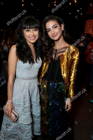 """Cynthy Wu and Medalion Rahimi seen at Open Road Films and Awesomeness Films Los Angeles Premiere of """"Before I Fall"""" after party, in Los Angeles"""