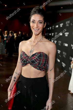 """Author Lauren Oliver seen at Open Road Films and Awesomeness Films Los Angeles Premiere of """"Before I Fall"""" at Directors Guild of America, in Los Angeles"""