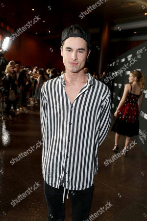 "Kian Lawley seen at Open Road Films and Awesomeness Films Los Angeles Premiere of ""Before I Fall"" at Directors Guild of America, in Los Angeles"