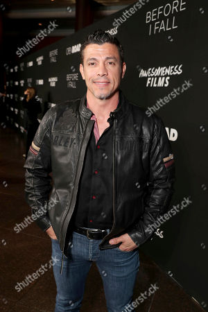"""Al Coronel seen at Open Road Films and Awesomeness Films Los Angeles Premiere of """"Before I Fall"""" at Directors Guild of America, in Los Angeles"""