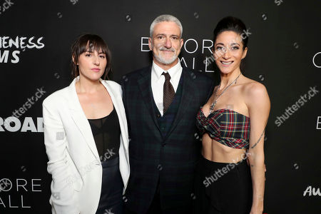 """Stock Picture of Director Ry Russo-Young, Producer Jon Shestack and Author Lauren Oliver seen at Open Road Films and Awesomeness Films Los Angeles Premiere of """"Before I Fall"""" at Directors Guild of America, in Los Angeles"""