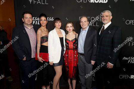 """Editorial picture of Open Road Films and Awesomeness Films Premiere of """"Before I Fall"""", Los Angeles, USA - 1 Mar 2017"""