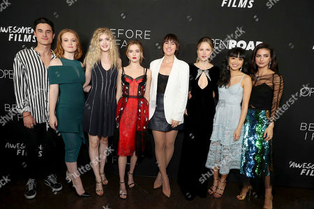 "Editorial picture of Open Road Films and Awesomeness Films Premiere of ""Before I Fall"", Los Angeles, USA - 1 Mar 2017"