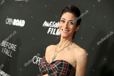"""Editorial photo of Open Road Films and Awesomeness Films Premiere of """"Before I Fall"""", Los Angeles, USA - 1 Mar 2017"""