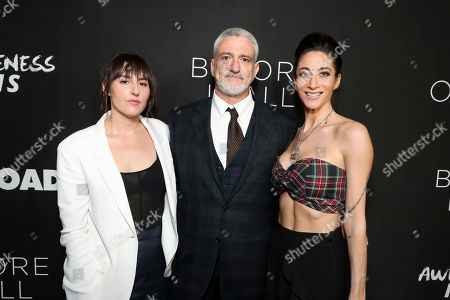 """Director Ry Russo-Young, Producer Jon Shestack and Author Lauren Oliver seen at Open Road Films and Awesomeness Films Los Angeles Premiere of """"Before I Fall"""" at Directors Guild of America, in Los Angeles"""