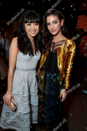 """Stock Picture of Cynthy Wu and Medalion Rahimi seen at Open Road Films and Awesomeness Films Los Angeles Premiere of """"Before I Fall"""" after party, in Los Angeles"""
