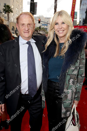 "Stock Picture of Producer Mike Medavoy and Irena Ferris seen at Open Road Films US Premiere of ""The Promise"" at TCL Chinese Theatre, in Los Angeles"