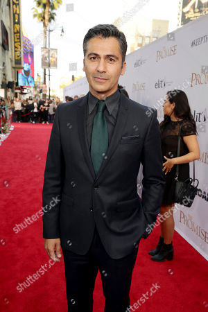 "Stock Picture of Armin Amiri seen at Open Road Films US Premiere of ""The Promise"" at TCL Chinese Theatre, in Los Angeles"