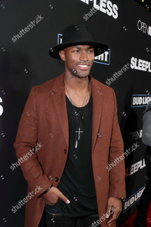 """Stock Picture of Keith Carlos seen at Open Road Films' """"Sleepless"""" Los Angeles Premiere at Regal LA LIVE, in Los Angeles"""
