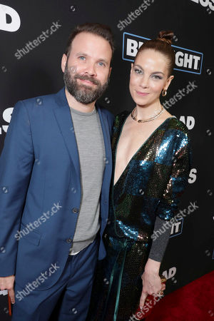"Director Baran bo Odar and Michelle Monaghan seen at Open Road Films' ""Sleepless"" Los Angeles Premiere at Regal LA LIVE, in Los Angeles"