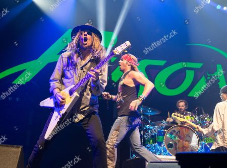 Editorial photo of Poison In Concert - , Baltimore, USA - 14 Apr 2017