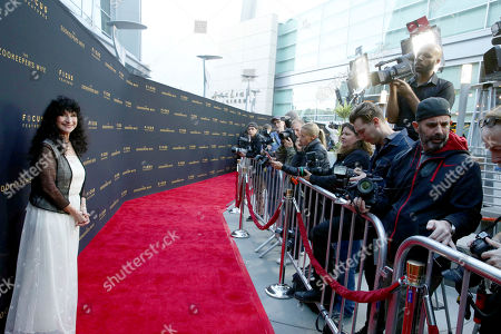 "Author Diane Ackerman seen at Los Angeles Premiere of Focus Features' ""The Zookeeper's Wife"" at ArcLight Hollywood, in Los Angeles"