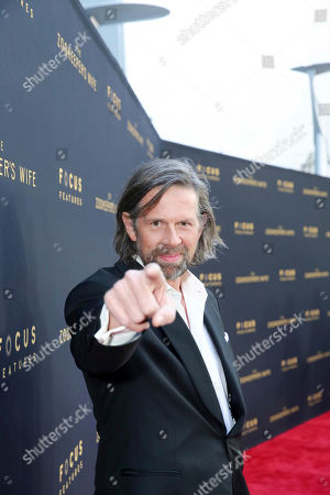 """Johan Heldenbergh seen at Los Angeles Premiere of Focus Features' """"The Zookeeper's Wife"""" at ArcLight Hollywood, in Los Angeles"""