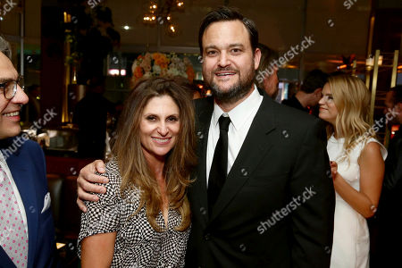 """Director Niki Caro and Producer Jamie Patricof seen at Los Angeles Premiere of Focus Features' """"The Zookeeper's Wife"""" at ArcLight Hollywood, in Los Angeles"""