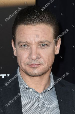 Jeremy Renner attends Remy Martin Presents a Special Evening at Eric Buterbaugh Gallery, in West Hollywood, Calif