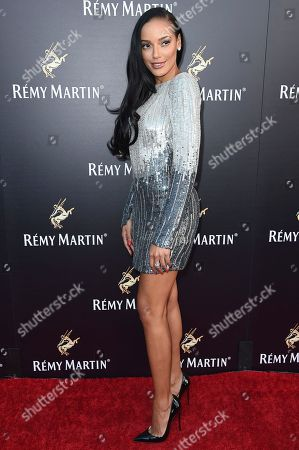Selita Ebanks attends Remy Martin Presents a Special Evening at Eric Buterbaugh Gallery, in West Hollywood, Calif