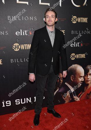 "Dan Soder attends Showtime's ""Billions"" Season 2 premiere at Cipriani, in New York"