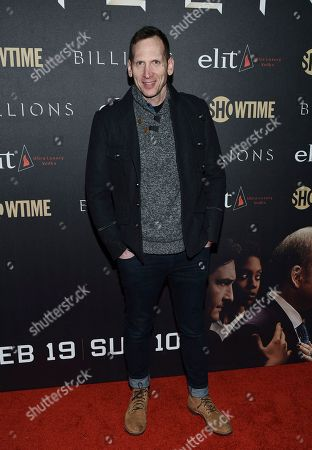 "Stephen Kunken attends Showtime's ""Billions"" Season 2 premiere at Cipriani, in New York"