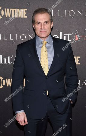 """Stock Picture of Actor Marc Kudisch attends Showtime's """"Billions"""" Season 2 premiere at Cipriani, in New York"""