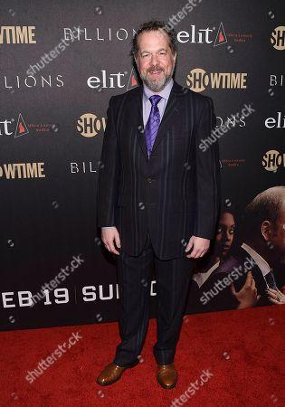 "Actor David Costabile attends Showtime's ""Billions"" Season 2 premiere at Cipriani, in New York"