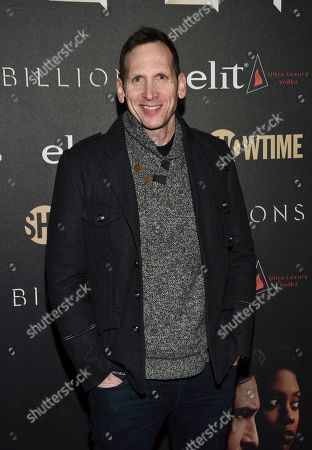 "Stock Image of Stephen Kunken attends Showtime's ""Billions"" Season 2 premiere at Cipriani, in New York"